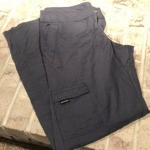 Prana Pants, Gray/blue.  Very sold, small
